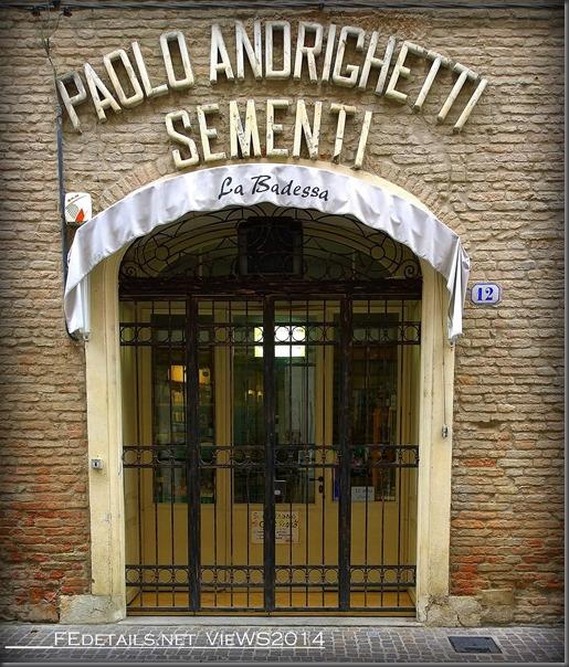 Bottega storica Paolo Andrighetti Sementi, Via Cortevecchia 12, Ferrara, Italy