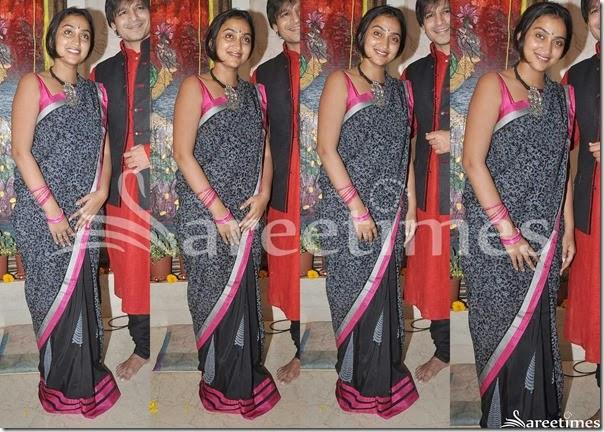 Priyanka_Alva_Half_and_Half_Saree