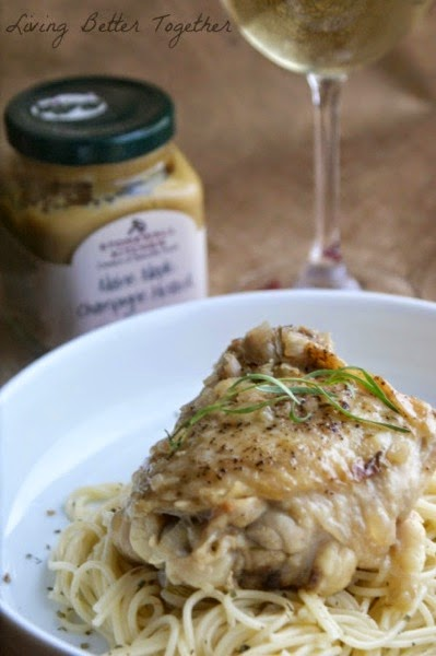 Living Better Together s maple champagne mustard chicken