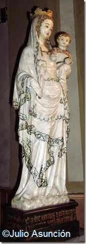 Virgen de Huarte - arte gótico en Navarra