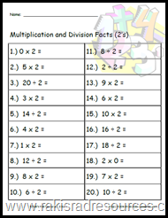 Knowing math facts with automaticity helps students in further math concepts