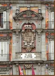 Madrid Plaza major N