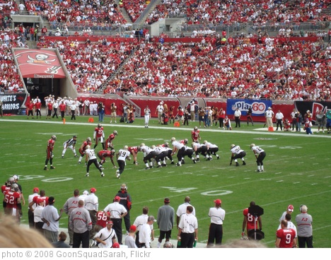 'New Orleans Saints at Tampa Bay Buccaneers' photo (c) 2008, GoonSquadSarah - license: http://creativecommons.org/licenses/by-nd/2.0/