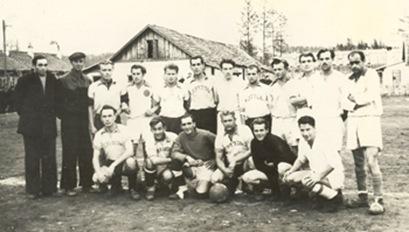Чемпионат Европы русские харбинцы 1955 год