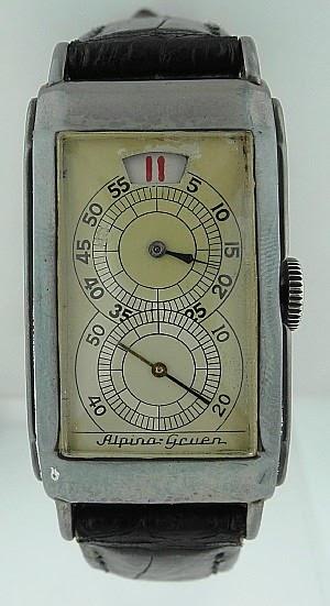 vintage watch experience gruen doctor 39 s jump hour watch. Black Bedroom Furniture Sets. Home Design Ideas