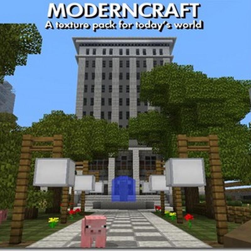 Minecraft 1.2.5 - ModernCraft Texture Pack