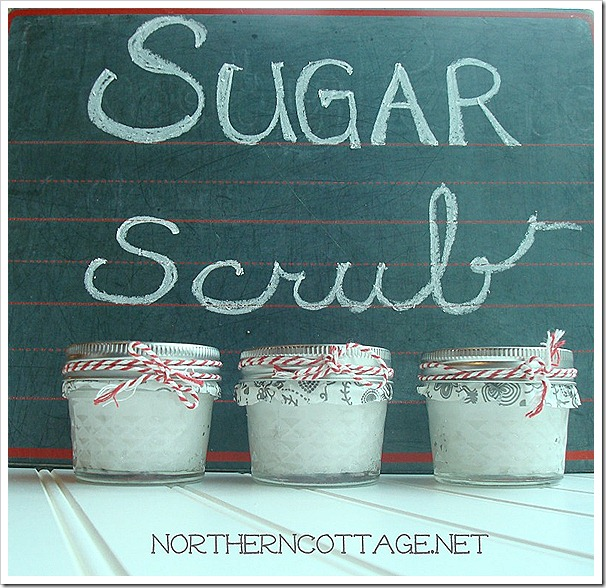Sugar Scrub @ NorthernCottage.net