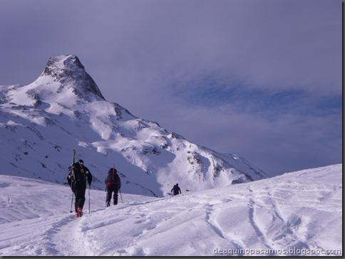 Pico de Canal Roya 2345m con esquis (Portalet, Pirineos) (Isra) 7303