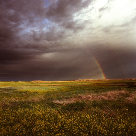 rainbow badlands