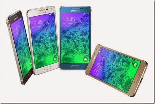 Samsung Galaxy Alpha en Bolivia