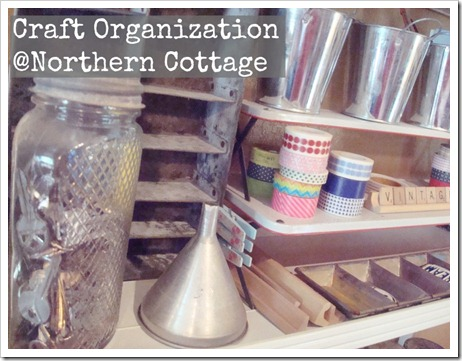 craft organization @northern cottage