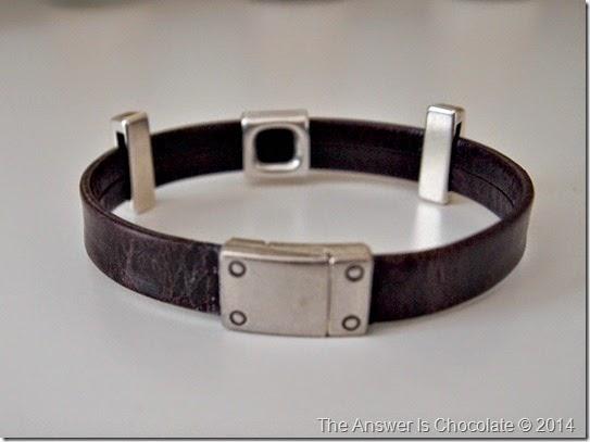 Leather Slider Bracelet