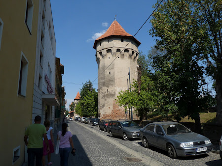 Historical cities of Transylvania: The citadel wall
