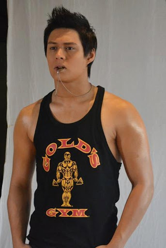 Enrique Gil for Gold's Gym