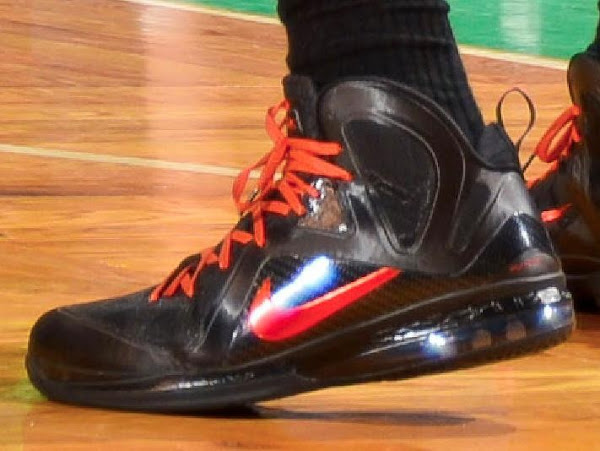 Detailed Look at LeBron 9 PS from ECF Game 6 aka 8220Hunger Game8221