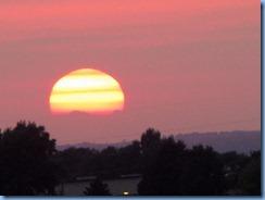 4755Minnesota - Burnsville, MN - Best Western Premier Nicollet Inn - sunset from our room