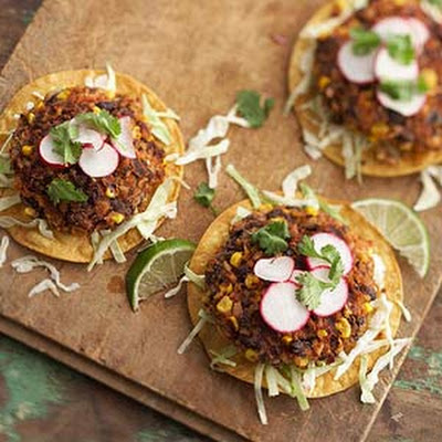 Black Bean Chipotle Burger