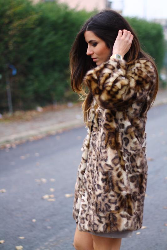 pelliccia leopardata