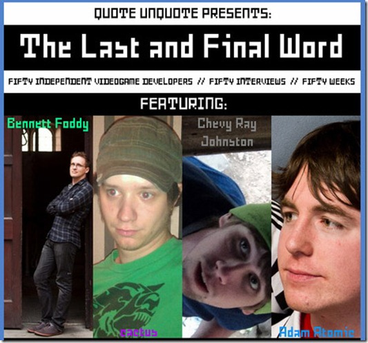 The Last and Final Word by Quote Unquote