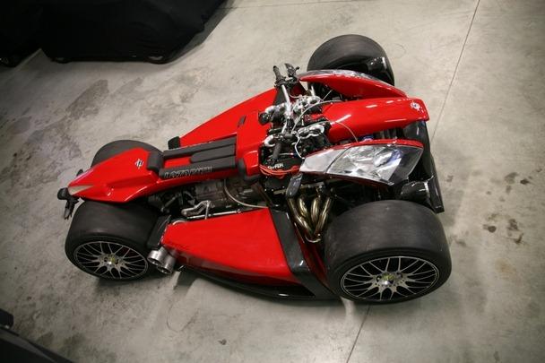 Lazareth Wazuma V8 Ferrari