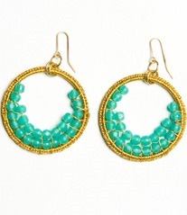 mediterranean sea earrings