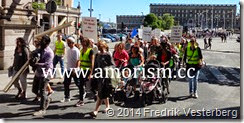 DSC01630.JPG Jesusmanifestationen 2014 Gustav Adolfs torg med amorism