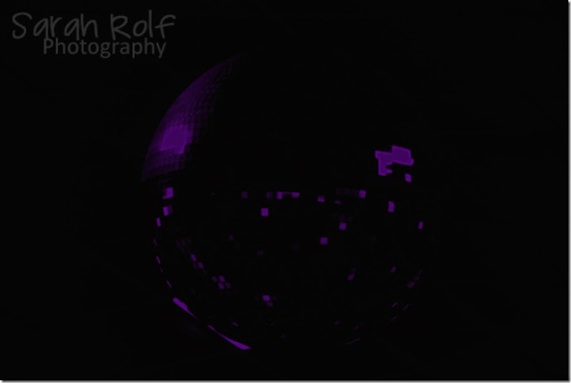 disco-ball-neon-purple