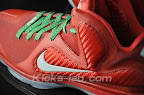 nike lebron 9 gr christmas 3 06 Throwback Thursday: Look Back at LBJs 2011 Christmas Shoes