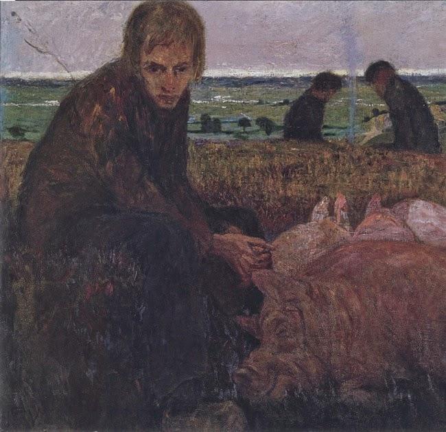 Heinrich Vogeler - Der verlorene Sohn 1895