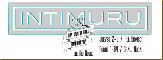 "Gira Patagonia 2012 ""Sobre la Arena"" 2/8"