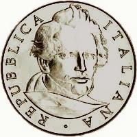 Moneta 5 euro 150.o scomparsa GG Belli Zecca Italia,dritto 2013
