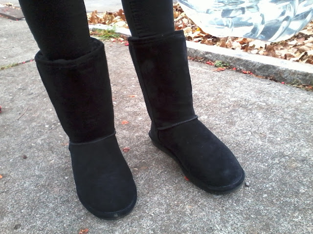 bearpaw boots - emma black