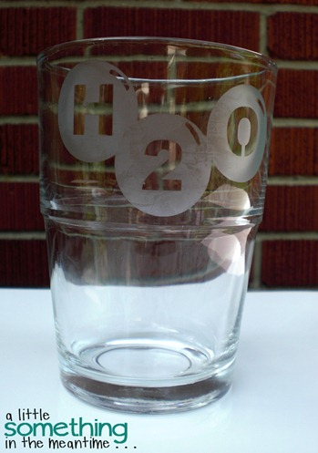 Glass Etching H2O 1 WM