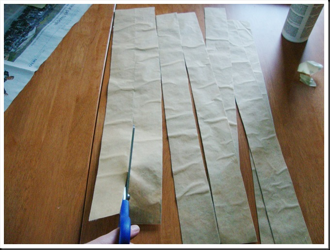 DIY recycled clothes masking tape