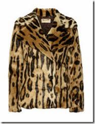 Michael Michael Kors Faux Fur Leopard Coat