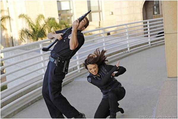 Agent Melinda May (Ming-Na Wen) finally kicks some ass.