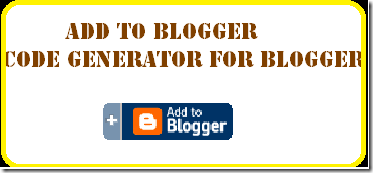 add  to blogger code generator