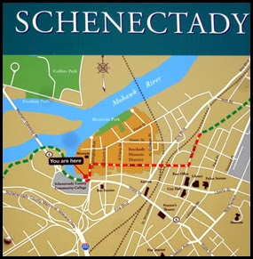 03j - Mohawk River (Erie Canal) Bike Trail - trail map in Schenectady, NY