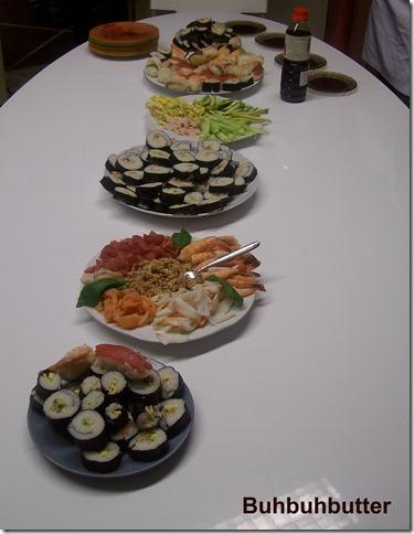 Buhbuhbutter corso sushi 1