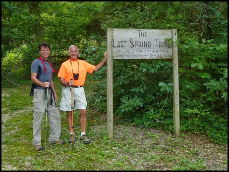 01 - Lost Springs Trailhead - David and Bill