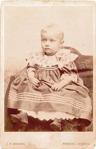 Orley Glenn Stapley--baby, Phoenix 1