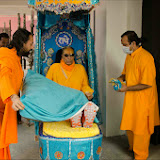 Shree Maharajji's visit to Swamiji's room