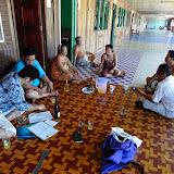 写真2: Rh. Padangでのインタビューの様子 / Photo 2: