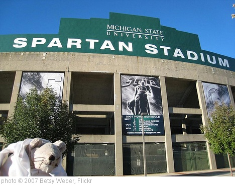 'Day 148 - Visit to Michigan State University Football Stadium' photo (c) 2007, Betsy Weber - license: http://creativecommons.org/licenses/by/2.0/
