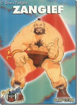 Zangief 1 - Card Street Fighter Zero 2