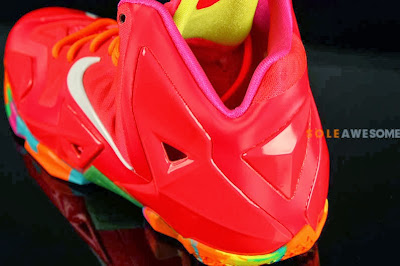 nike lebron 11 gs fruity pebbles 2 07 Another Look at Fruity Pebbles LeBron 11 GS (621712 600)