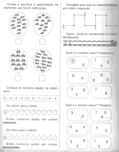 Ordem Crescente E Decrescente1   Matematica 3   Ano Antiga Segunda