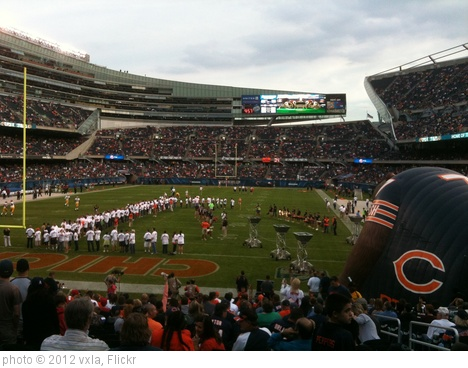'The Chicago Bears Pre-Season Home Game 8/18/2012' photo (c) 2012, vxla - license: http://creativecommons.org/licenses/by/2.0/