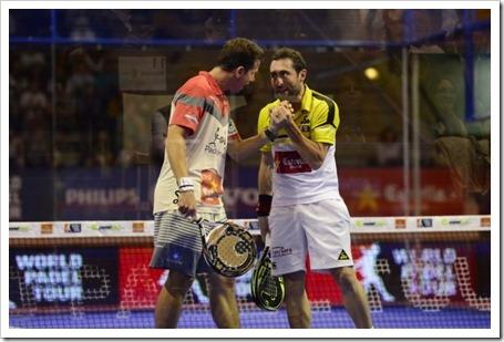 Paquito Navarro y Maxi Grabiel Campeones del WPT San Fernando Open 2014.