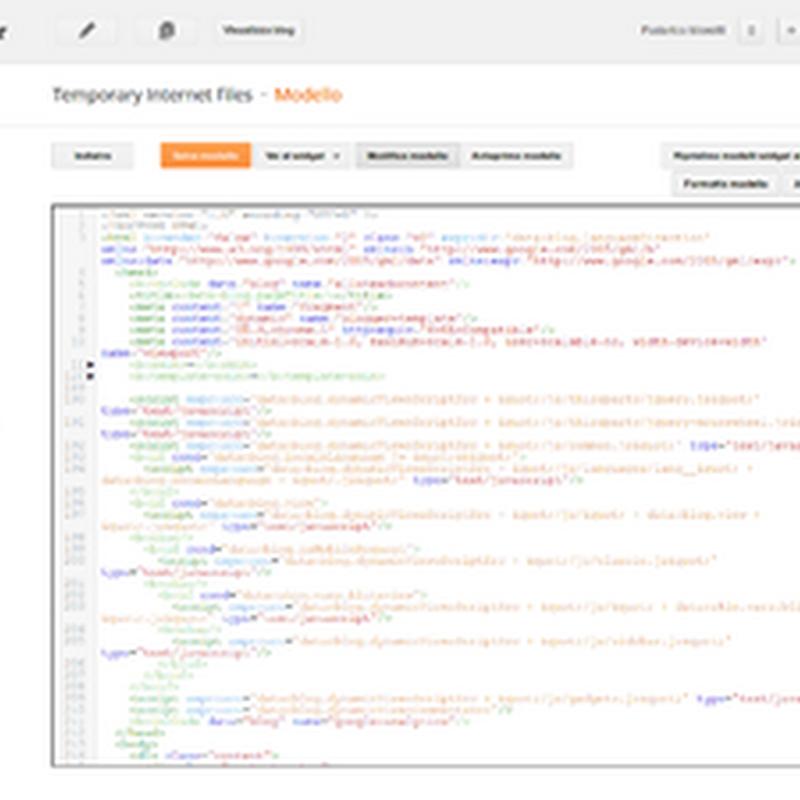 Migliorato l'editor di Blogger per HTML, CSS, JavaScript